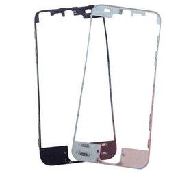 100 unids / lote DHL Para iPhone 7 7 Más Vivienda Frontal Bisel Marco Titular Con Reemplazo adhesivo pegamento caliente desde fabricantes