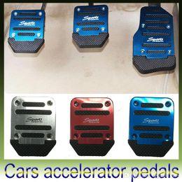 Wholesale Wholesale Car Pedal Covers - Car Auto Vehicle Accelerator Brake Foot Pedal Cover Set Brake Pedal Kit Mopar For VW mazda All models - Manual transmission