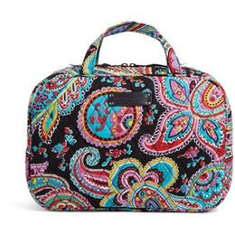 Wholesale Makeup Case Large - VB Storage Bag Makeup Bag Large Capacity Portable Cosmetic Bag Cases