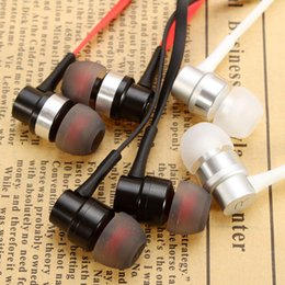 Wholesale High Performance Ear Earphones - Computer Earphones Microphone REMAX RM-535i 3.5mm Sport Bass Headphone High Performance In Ear Stereo Headset Metal HiFi Earphones