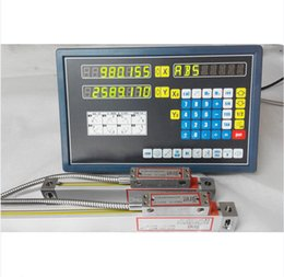 Wholesale Digital Mills - 2 Axis digital readout for milling lathe machine with precision linear scale T