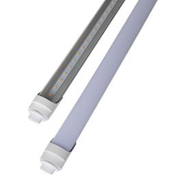 2019 cree led blanco brillante T10 de una hilera SMD2835 R17D Super Bright 45W R17d 8Ft T8 LED 8 pies de color blanco puro T8 bombillas 2700K 3200K 5000K-5300K cree led blanco brillante baratos