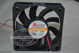 Wholesale Computer Power Supply Fans - Wholesale: Y.S.TECH FD126015HB 60*60*15 12V 0.22A 2 wire cooling fan power supply fan