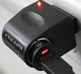 Briquet ca en Ligne-Haute Qualité Voiture Adaptateur Allume-cigare Convertisseur 220 V Mur Alimentation Portable AC À DC 12 V Noir US eu Plug