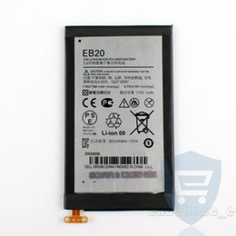 Wholesale Droid Xt912 - New EB20 1750mAh Replacement Battery For Motorola XT912 MT917 XT885 mt887 XT889 XT910 DROID RAZR V Batteries