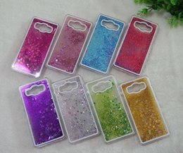 Wholesale Galaxy Grand Back Cases - Clear Dynamic Liquid Glitter Colorful Paillette Sand Quicksand Star Back Case Cover for Samsung Galaxy Grand Prime G530 G531H