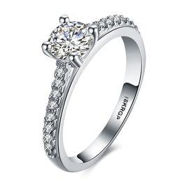 Wholesale Jewelry 18krgp - G3 Jewelry Fashion Elegant Original 18KRGP Dazzling Daisy Flower Ring Clear CZ Wedding Jewelry