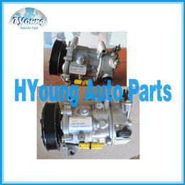 Wholesale Peugeot Compressor - SD6C12 auto a.c compressor for Peugeot Citroen Renault Fiat ac parts 9651910980 6453QJ 6453QK 6453WK 96598757 9659875780