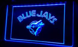 Wholesale Blue Led Lights Wedding - LS366-b Blue Jays-LED Neon Light Sign