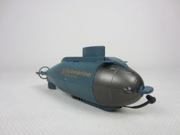 Wholesale rc mini submarine - Wholesale- 777-216 Mini Remote Control RC Racing Submarine Boat Toys with 40MHz RC Transmitter FSWB