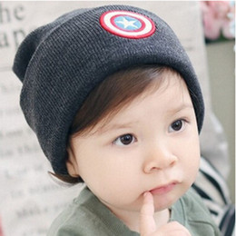 Wholesale Wholesaler For Baby Apparel - 2016 Fashion Warm Woolen Knitted Caps Baby Kids Winter Hats New Boutique Winter Beanies Clothes Apparel Accessories for 2-8T Kids
