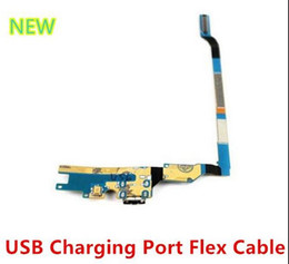 Wholesale Galaxy S4 Replacement Parts - For Samsung Galaxy S4 i9500 i9505 i545 i337 for phone repair replacement parts Charging Port Dock USB Connector Flex Cable
