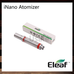 Wholesale Used Tanks - Ismoka Eleaf iNano Atomizer 0.8ml Tank Best Match iNano Kit Easy to Use 100% Original