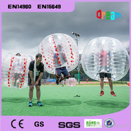 Wholesale Zorbing Balls For Sale - 1.5m 0.8mm PVC Transparent inflatable bumper ball soccer bubble ball zorbing ball loopy ball for sale