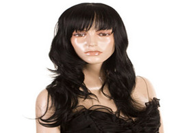 Mejores pelucas de pelo de malasia online-Pelucas llenas del cordón La mejor peluca sin procesar Pelo virginal Malasio Onda del cuerpo Peluca llena del cordón Sin cola Frente del cordón Cabello humano% 100 Pelucas con el pelo del bebé