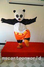 Wholesale Panda Bear Halloween Costumes - on sale KungFu Panda Mascot Costumes panda bear Cartoon Character Christmas Halloween with Adult Size