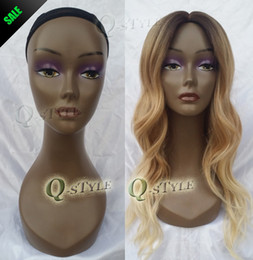 Wholesale manikin display - Wholesale-Female Mannequin Maniqui head ABS mannequin manikin head display wig  necklace  cap