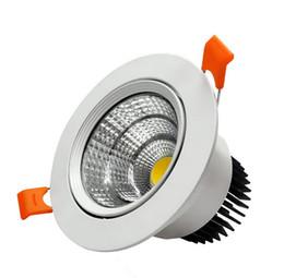 Prix de gros 10W / 15W Dimmable COB puce Epistar Encastrable LED plafonnier LED Down Light Lampe Froid / Blanc / blanc chaud led lampe ? partir de fabricateur