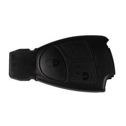 Garantido 100% 3 Botões de Substituição Do Carro Keyless Inteligente Fob Remoto Chave Shell Caso Chave Para MERCEDES BENZ Frete Grátis de