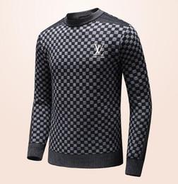 Wholesale Long Sleeve Printing Knitting Sweater - New Fashion Men's Cashmere sweater Jacket fleece Long Sleeve Polos Casual Sweatshirts Brand Man Warm knitting Coat Best quality
