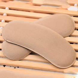 Wholesale Sponge Cushion Pad - Strong Sticky Fabric Shoe Heel Inserts Protector Pads Cushion Pad Grips Footcare Sale X2