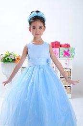 Wholesale T Length Wedding Dress Designers - Designer Ruffle Flowergirl Girl Dress Blush Pink Fancy Appliques Little Flower Girls Pageant Dresses for Weddings