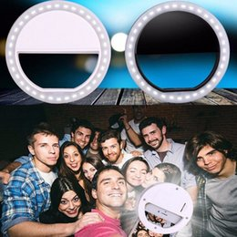 Wholesale Wholesale Droid Phones - LED Selfie Ring Light for iPhone6s iphone7 ,Samsung Galaxy s7 edge,Blackberry Bold Touch, Sony Xperia, Motorola Droid and Other Smart Phones