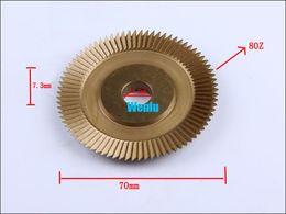 Wholesale Key Tungsten - A512 key cutter 70*12.7*7.3mm size 80Z for horizotal key machine