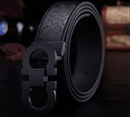 Wholesale Luxury H - 2017 New Fashion Mens Business G Belts Luxury Ceinture Automatic h Buckle Genuine Leather Belts For Men Waist Belt Free Shipping