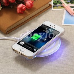 Wholesale Popular Blackberry - 2016 Universal Qi Wireless Charger The Best Popular Charging For Samsung Note Galaxy S6 S7 Edge Mobile pad With USB Cable