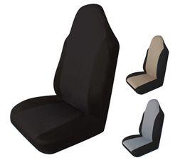 Fundas de asiento para vehículo online-Funda de asiento de coche Cojín universal con almohada delantera Cubierta de asiento de vehículo de automóvil Embalaje individual Cubiertas de coche Cubierta de asiento Accesorios