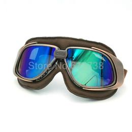 Wholesale Gafas Ski - Motorbike Victory Racing goggles color lens Motorcycle ski goggles bike gafas