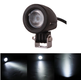 Wholesale Led Work Lamp 12v Round - 2pcs 10W LED Work Light 12V 24V Car Auto SUV ATV 4WD AWD 4X4 Offroad LED Driving Fog Lamp Motorcycle Truck Headlight