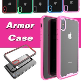 Wholesale Beatles Cases - Supcase Hybrid Armor ShockProof Drop Proof Anti Scratch Clear Transparent Panel Beatles Classic Cover Case For iPhone X Samsung S8 Plus
