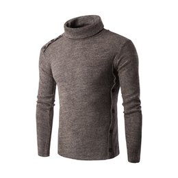 Wholesale Turtle Neck For Men - New Arrivals 2016 High Quality Casual Sweater for Men Pullovers Fashion winter warm Knitting Long Sleeve Turtle Neck Sweaters Sweatshirts