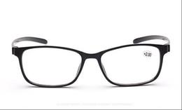Wholesale Reading Sunglasses - Reading glasses Sunglasses far sight Elderly glasses red black brown +100-+400 Anti-fatigue PC Plastic eyeglass frames wholesale