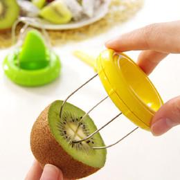 Wholesale Peel Fruit Machine - Two Colors Fruit peeler Kiwi Peeling Machine Multifunctional Peeler Cut Fruit Artifacts Kitchen Tools