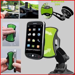 Wholesale Gripgo Holder - free shipping GripGo Mobile Cell Phone GPS Navigation Holder windshield mount via Fedex 360pcs lots