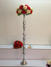 "Wholesale Height Stick Wholesale - 3 colors! 120 cm  49"" height metal candle holder candle stick wedding centerpiece event road lead flower rack 1lot =10 PCS"