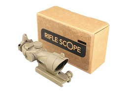 Wholesale Tactical Rifle Scopes Trijicon - Tactical Hunting Shooting Trijicon ACOG 4X32 Sand Rifle Scope B Paragraph color