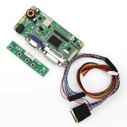 Wholesale Vga Lvds Controller - Wholesale-(VGA+DVI) M.RT2261 LCD LED Controller Driver Board For B173RW01 V0 DS Monitor Reuse Laptop 1600x900