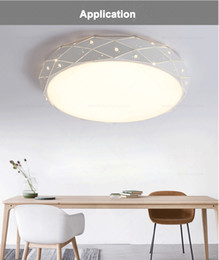 Canada Led Ceiling Light Round Style Acrylic 18W 24W 36W For Living Room