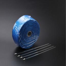 """Cinta en rollo de 2 """"x 15 'con cinta de acero inoxidable, nuevo Cool Cool de fibra de vidrio / Encabezado Heat Wrap desde fabricantes"""