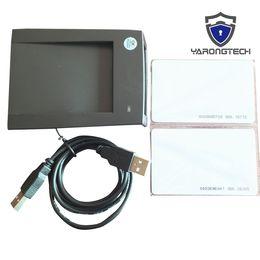 cartes de programmation Promotion Nouvelles cartes d'identification de proximité marine de 125khz EM4100 8H10D EM / lecteur de carte à puce USB RFID