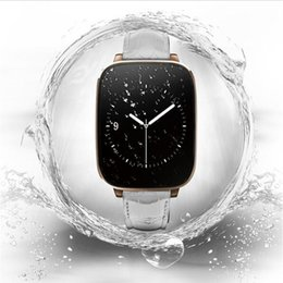 Wholesale Italian White Crystal - 2015 newest Crystal Curved 1.54inch IPS 3D HD screen waterproof Smart Watch smartwatch Heart rate Bluetooth 4.0 Genuine