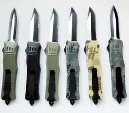 Wholesale MICROTECH A161 SOCOM Elite Counter Strike models optional double action hunting Folding A162 A163 A07 Knife Xmas gift for men