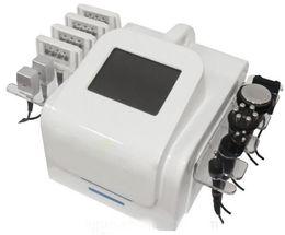 Wholesale Tripolar Laser Machines - 5 in 1 40K Ultrasonic Cavitation Lipo Laser Bipolar RF Tripolar RF Sixpolar RF 650nm Lipolaser Slimming Machine For Sale