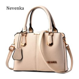 Wholesale Brand Name Messenger Bag - Women Bag Lady Handbag OL Style Shoulder Bags Casual Zipper Messenger Bags PU Leather Bag Brand Name Tote Satchel Sac