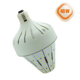 Wholesale Medium Base Led Light Bulbs - 40Watt LED Corn Cob Bulb Light Medium E26 Base 5402lm Retrofit Acorn Post Fixture 150W HID Street Lights 6000K for Backyard Garden Court