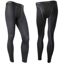 Wholesale Men S Under Wear - Wholesale-New Men's Compression Base Layer Pants Long Tight Under Skin wear Gear Bottom L4 KR2